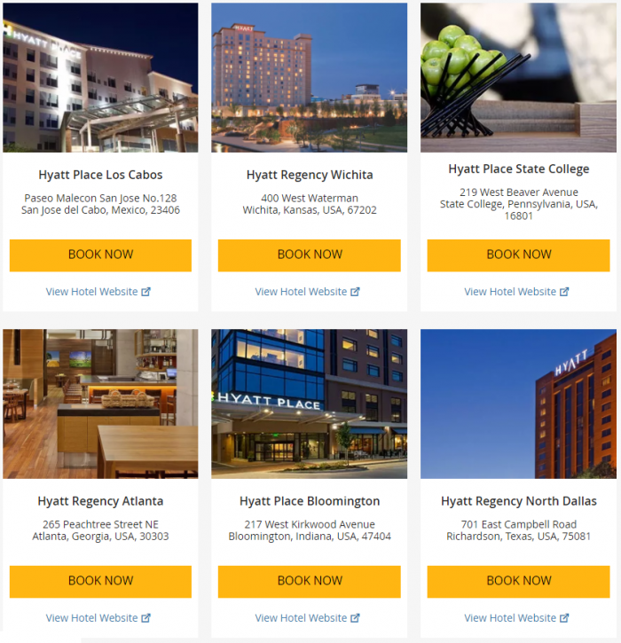 "Hyatt ""Weekend Getaway Deals"" June 29 – July 2 2017 5"