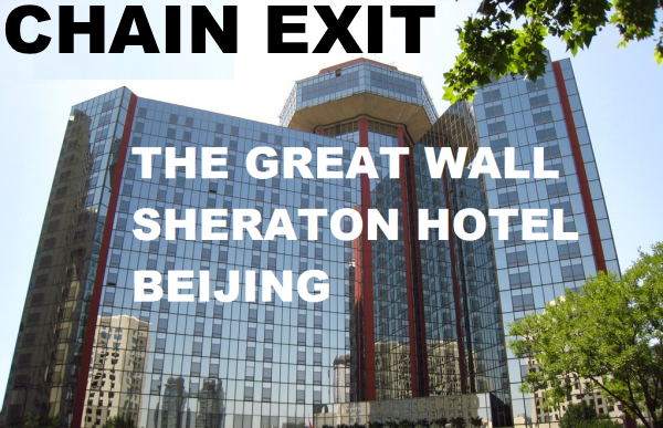 Starting July 1st 2017 The Great Wall Will No Longer Be Affiliated With Starwood Hotels And As Usual You Ll Also Unable To Collect Any More Spg Related