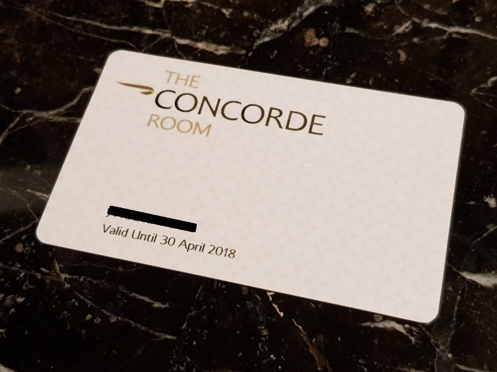 The End Of British Airways Concorde Room Card Is Coming ...