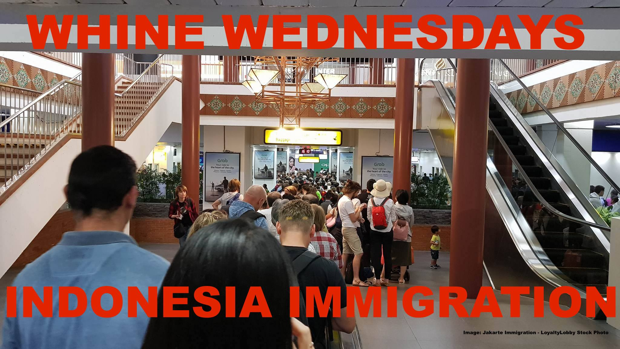 Whine Wednesday Immigration Lines Out Of Control In