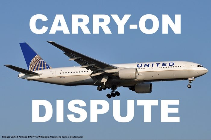 argument over carry on bag leads to arrest of united