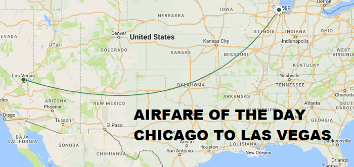 Airfare Of The Day American Airlines Chicago To Las Vegas