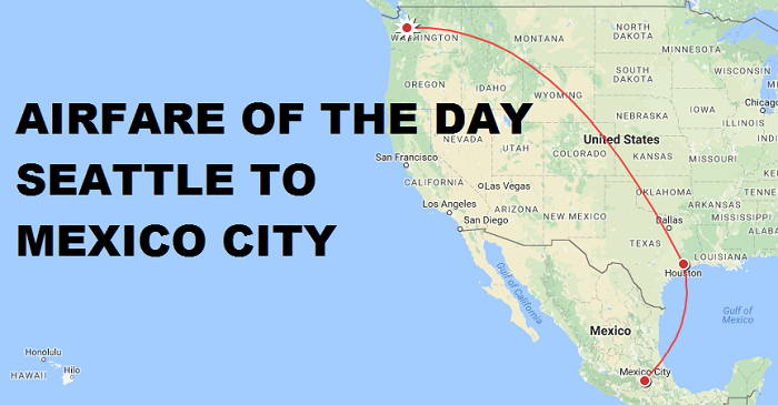 Airfare of the day united airlines seattle to mexico city for Vacation to mexico city