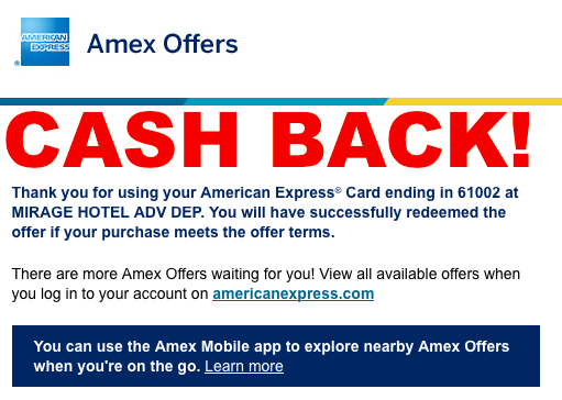 U S  Based American Express Cardmembers Should Monitor Their
