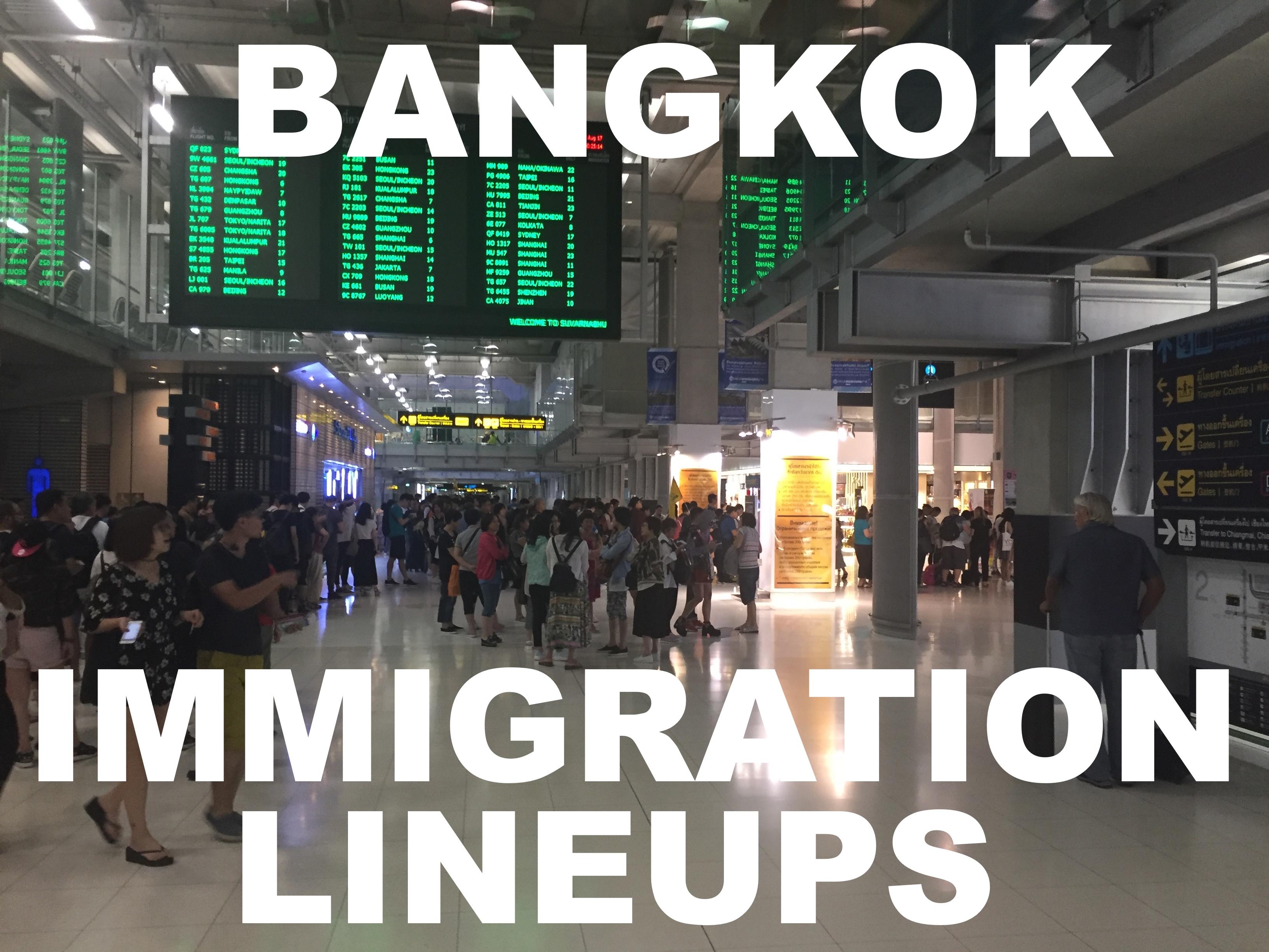 bangkok airport arrivals