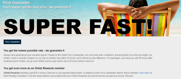 Update on orbitz best price guarantee extremely fast for Independent hotels near me