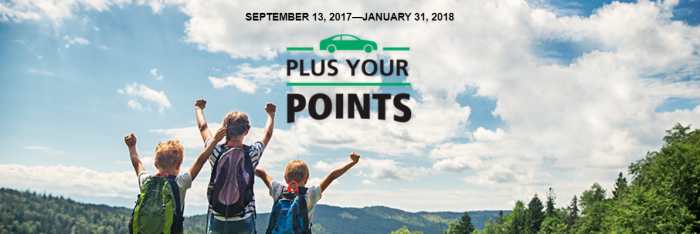 Enterprise Plus – Plus Your Points Promotion For September 13 – January 31, 2018