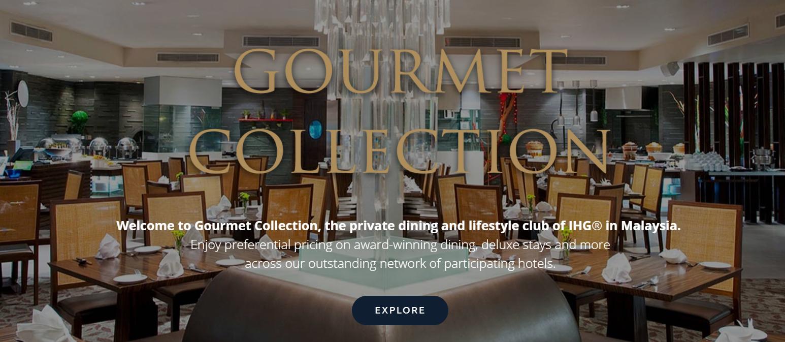 Ihg Rewards Club Gourmet Collection Malaysia Dining Accommodation Voucher Value Hotel Indonesia Program Loyaltylobby