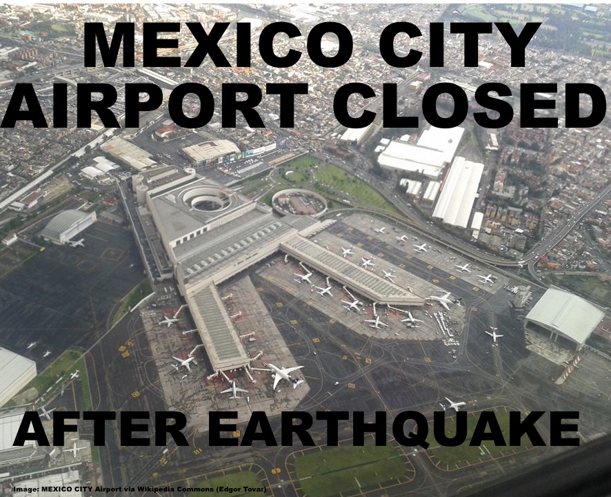 Mexico city airport closed after earthquake damages vital all facilities had to be evaluated for structural integrity before the airport was able to resume operations as of this afternoon while many parts of the sciox Gallery