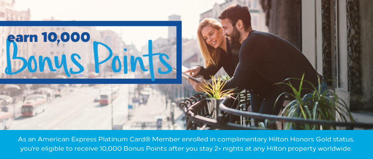 Hilton Honors American Express Platinum 10 000 Bonus