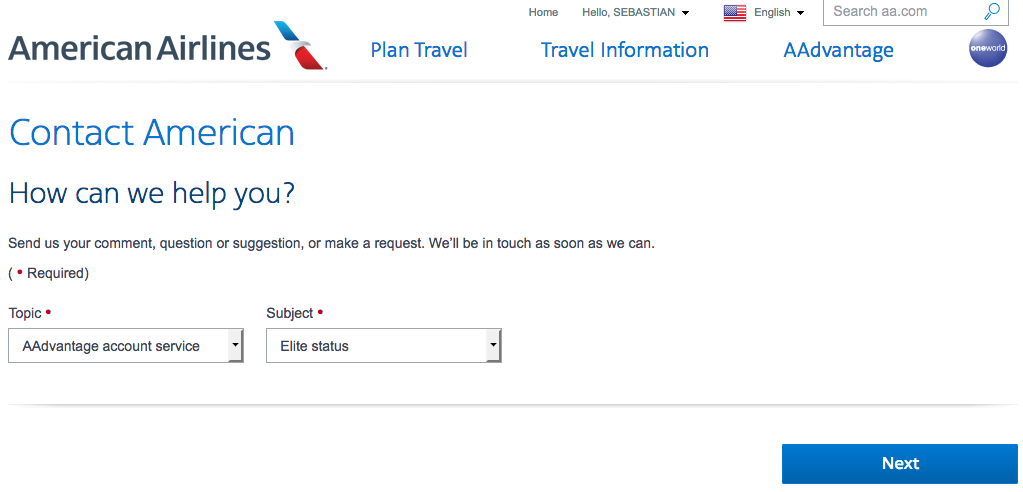 American Airlines Aadvantage Now Offering Status Match