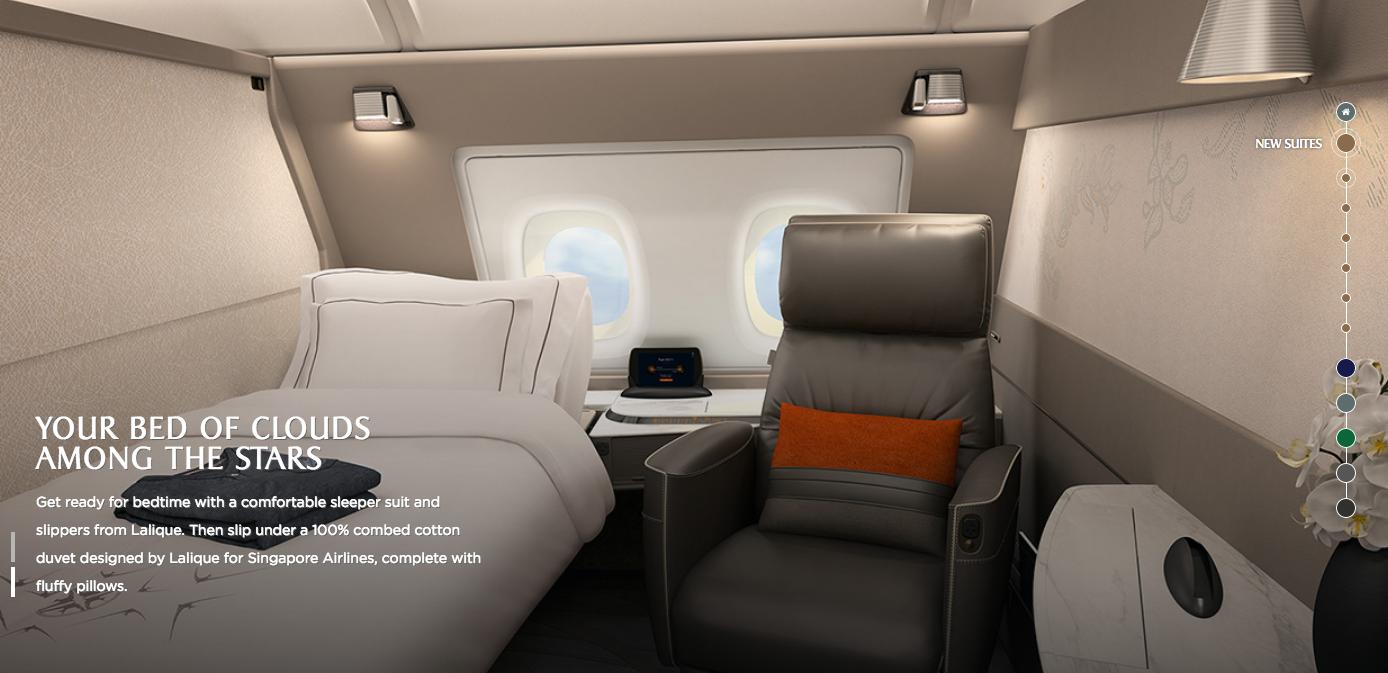 Singapore Airlines Unveils New A380 Interior Design