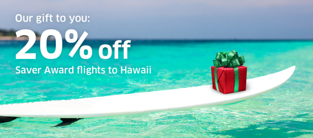 United Airlines Hawaii 20 Off Mileageplus Awards For