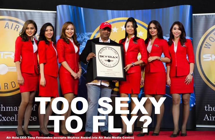 Are Air Asia & Malindo Air Flight Attendant Uniforms Too