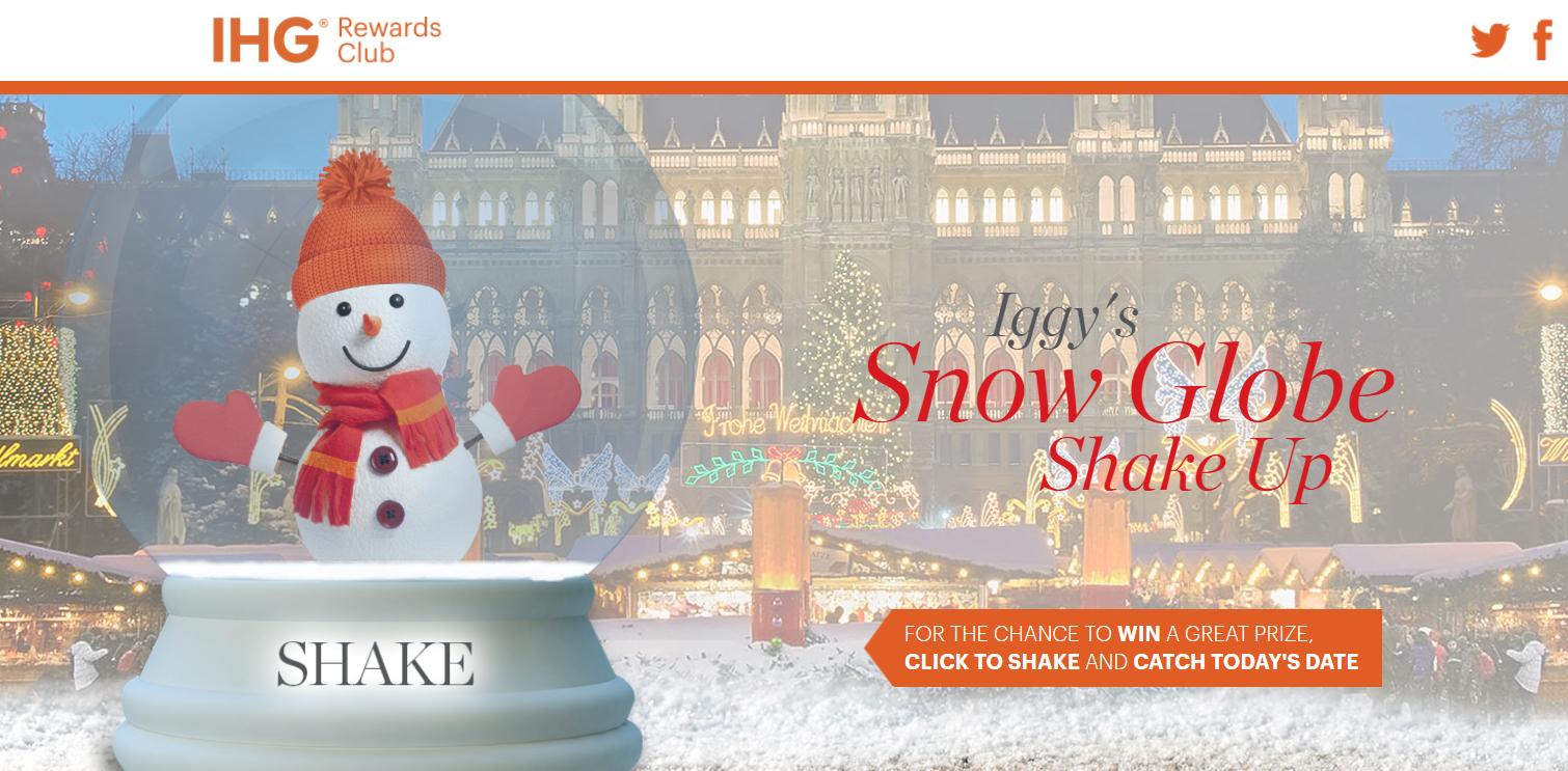 Ihg Rewards Club Advent Calendar For European Union Members December