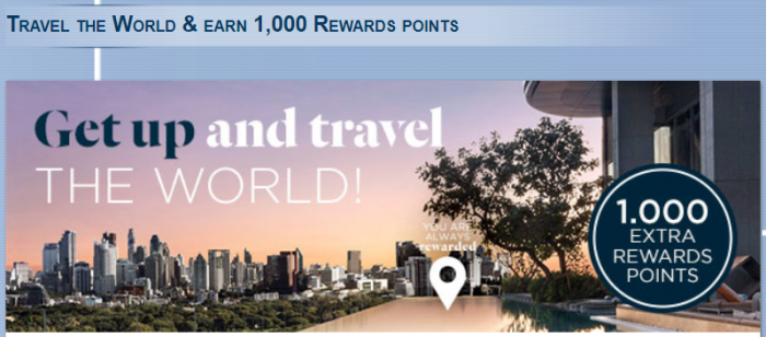 Le Club AccorHotels 1,000 Bonus Points For A Stay November 29 – February 28, 2018