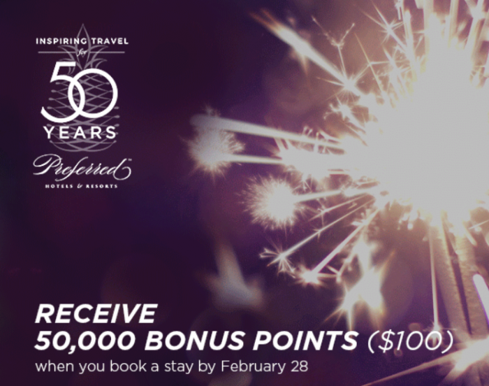 I Prefer 50,000 Bonus Points For Two Night Stay Booked Between January 29 – February 28, 2018