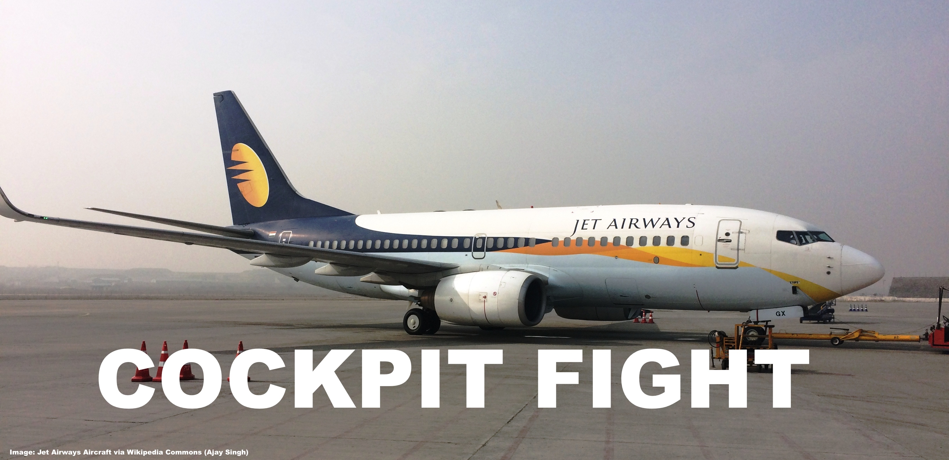 Jet Airways Cockpit Fight From London To Mumbai, No Pilots