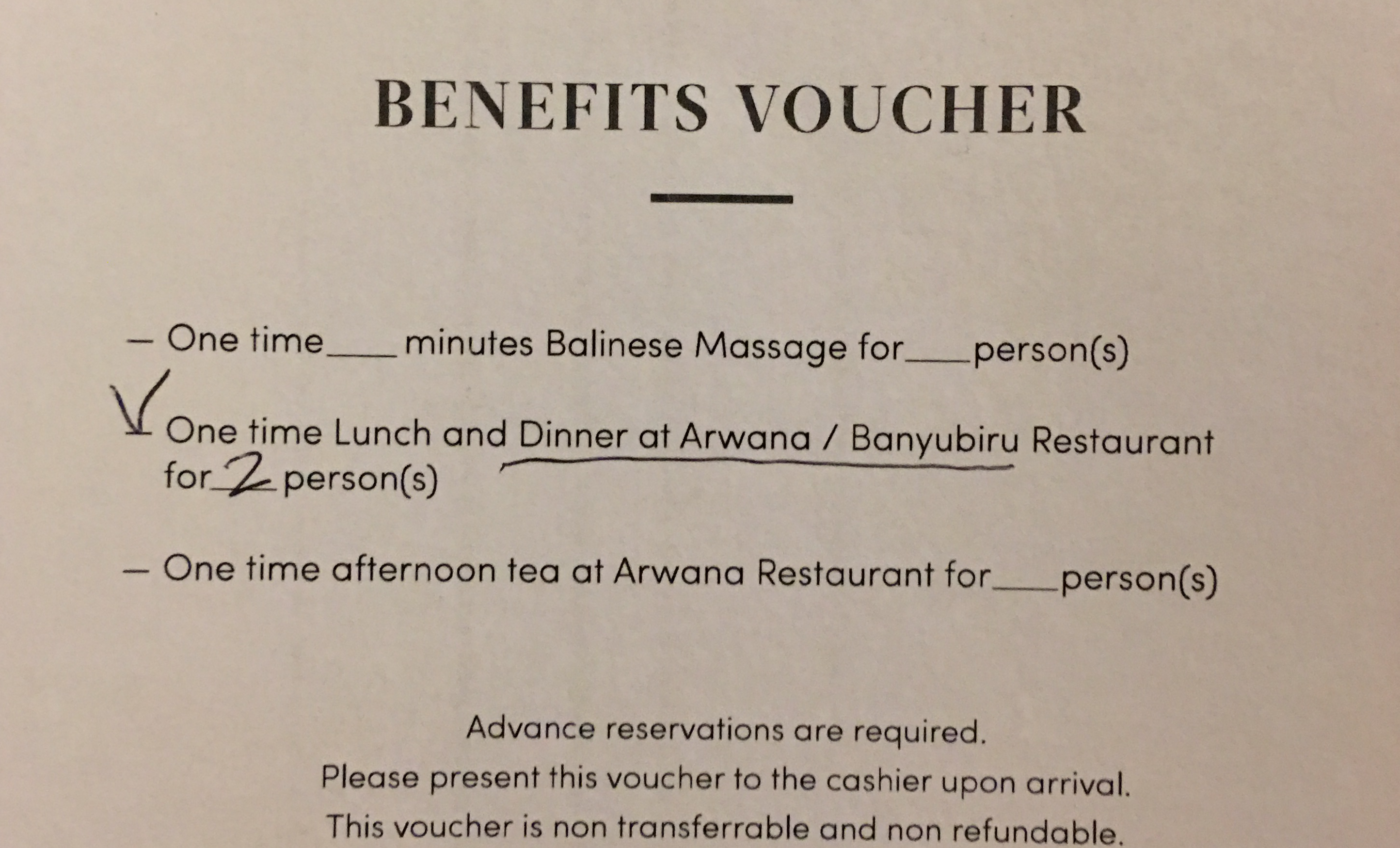 Compensation Clinic Construction Noise At Holiday Resort Sheraton Voucer Hotel Best Western Kuta Bali We Decided To Have Dinner The Arwana Which Has A La Carte Options Banyubiru Is Buffet And It Was Really Bad Air In Dining Area