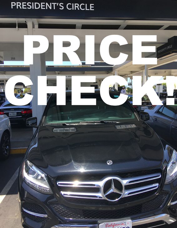 Reminder Always Double Check The Pricing For Your Hotel Car