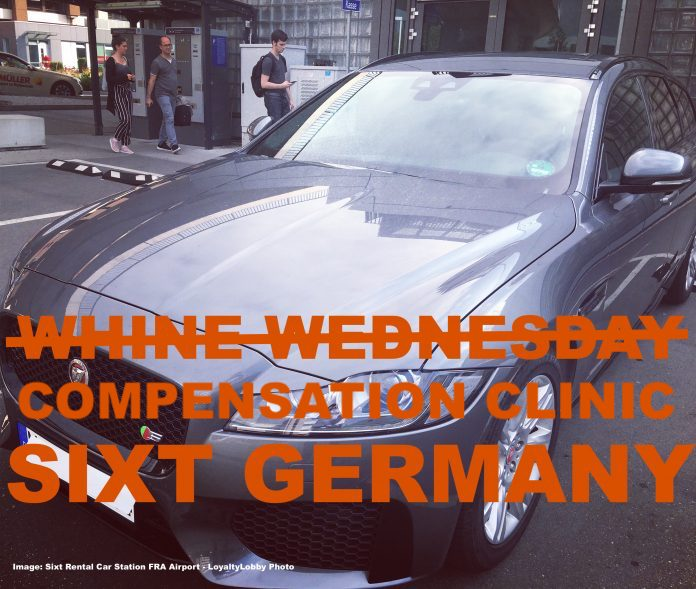 Compensation Clinic Sixt Rental Car Issues At Frankfurt Airport