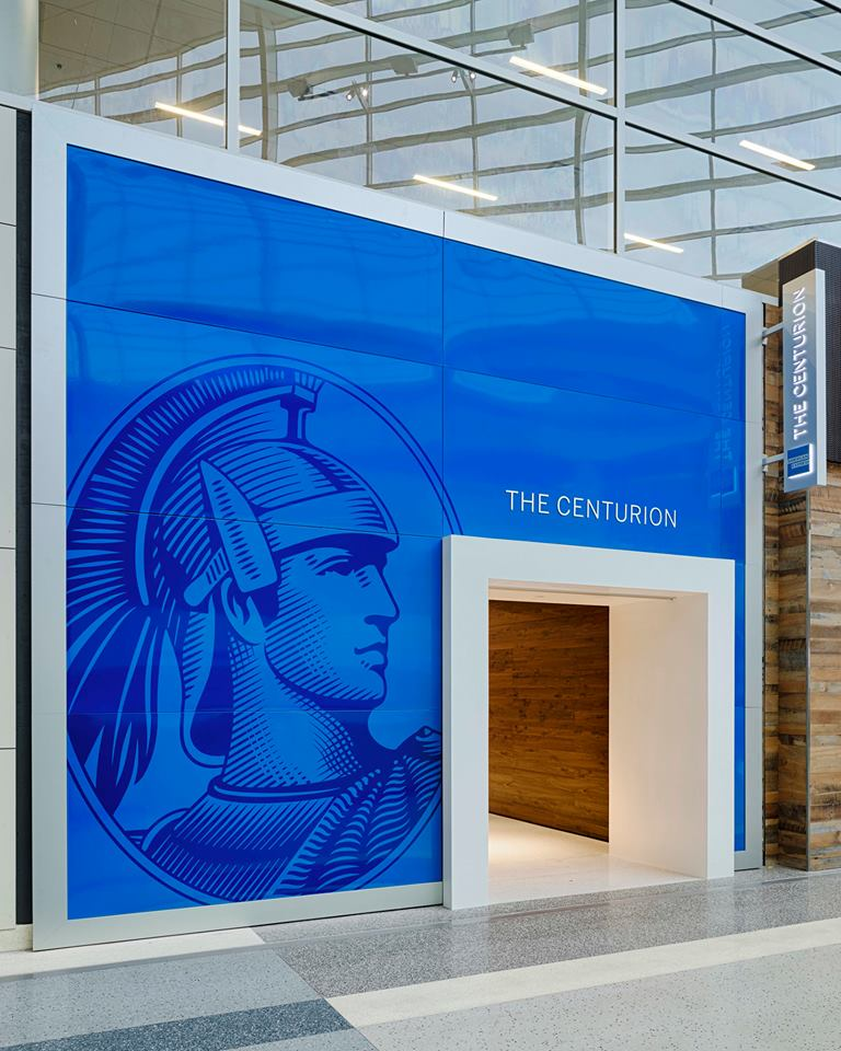 The New American Express Centurion Lounge At Dallas Ft