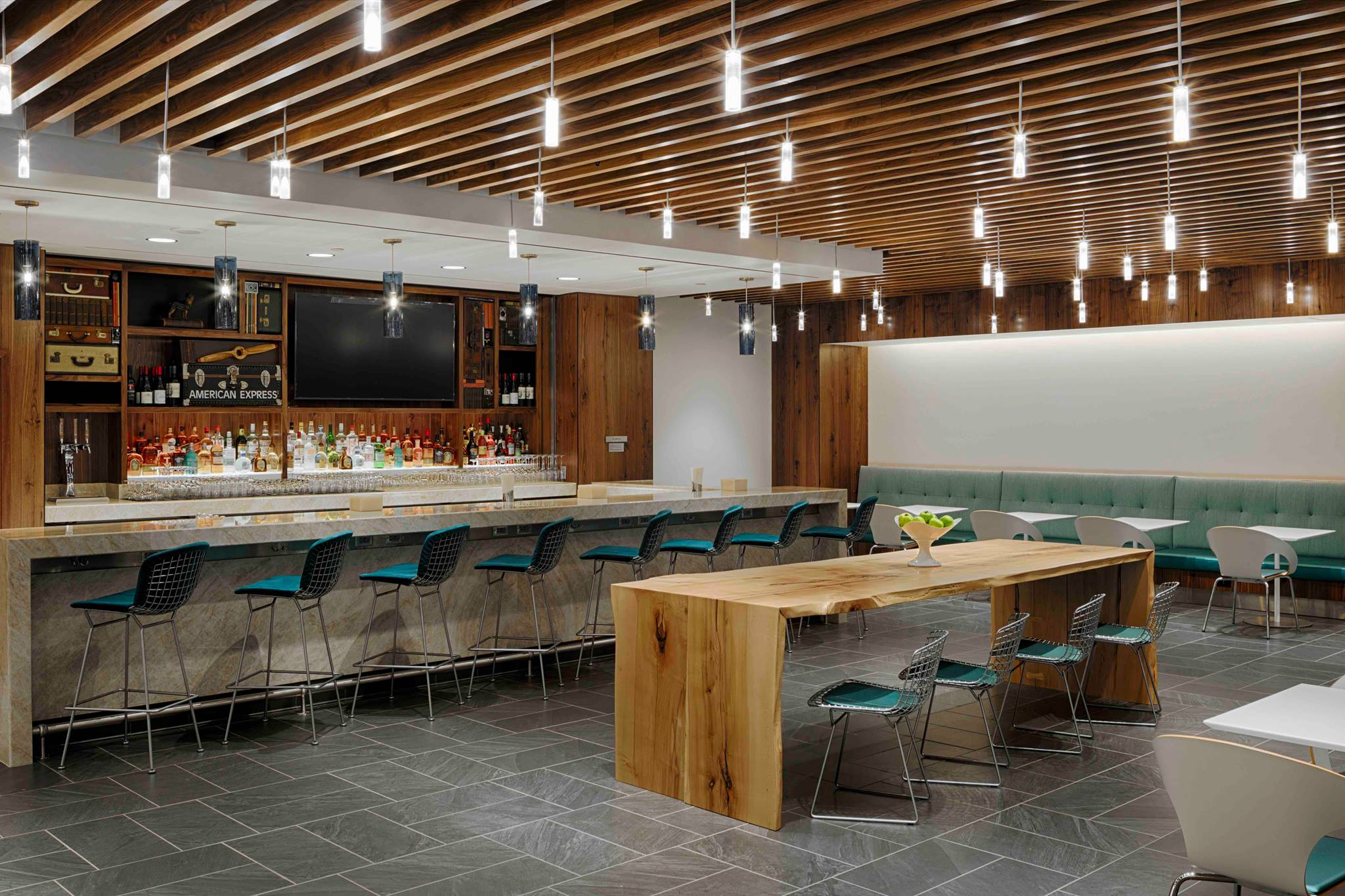 The New American Express Centurion Lounge At Dallas Ft  Worth DFW