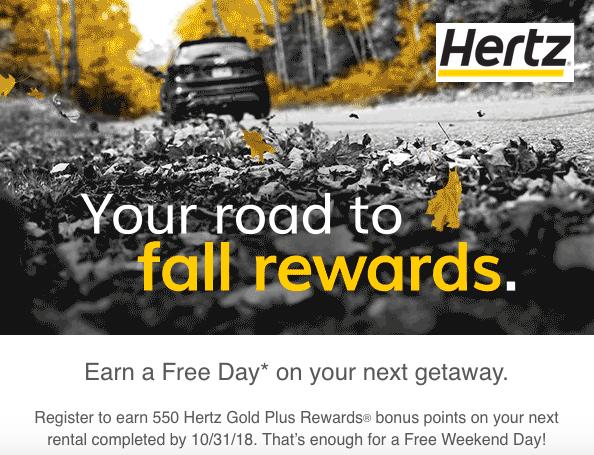 Hertz gold coupons