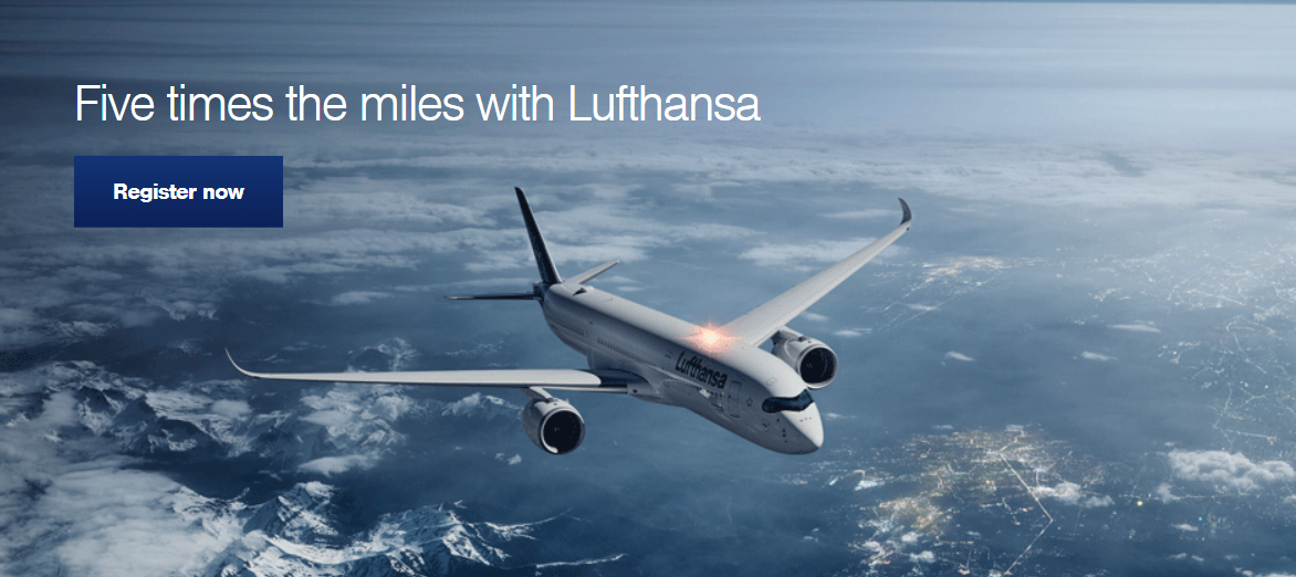 Lufthansa Miles More Quintuple Between Select Europe North America City Pairs January 1 March 31 2019