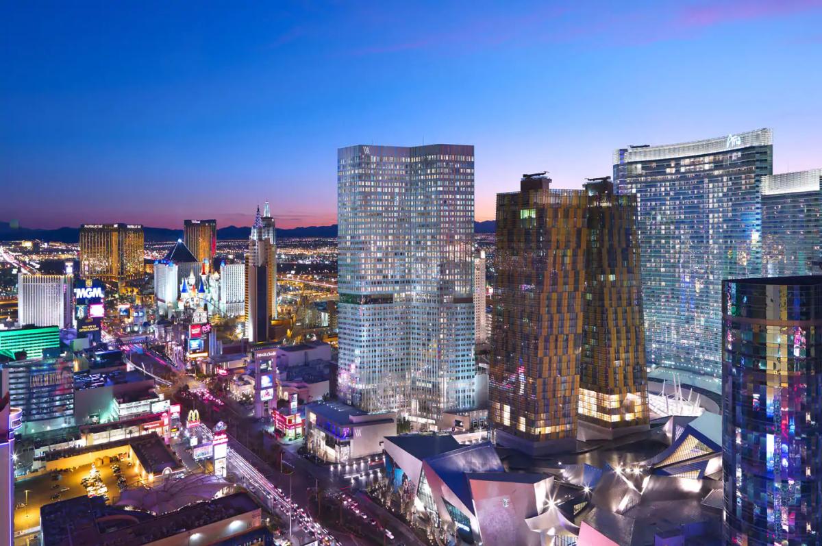 Las Vegas Nevada: Waldorf Astoria Las Vegas Now Open (Mandarin Oriental