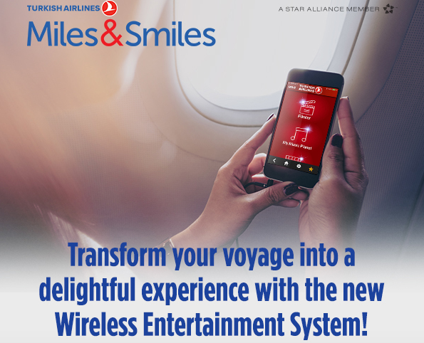 Turkish Airlines Rolls Out Wireless Entertainment System On 44