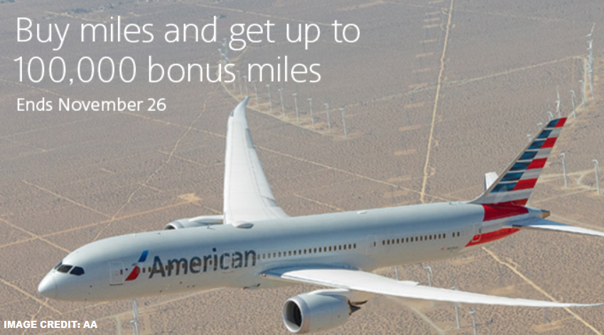 American Airlines Buy Amp Gift Aadvantage Miles Up To