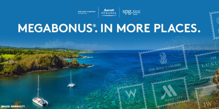 Marriott Rewards & SPG MegaBonus In More Places