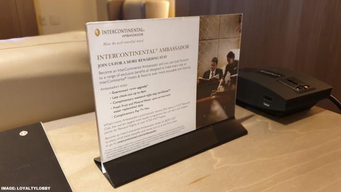 New IHG Rewards Club, InterContinental Ambassador Changes