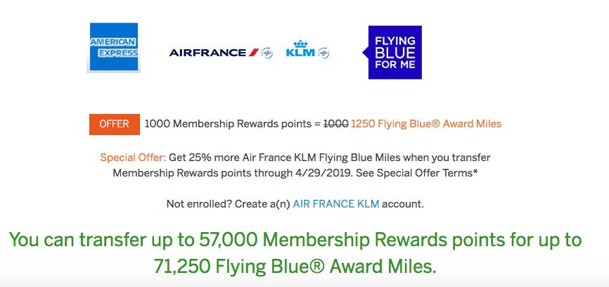 American Express U S  Based Membership Rewards: 25% Transfer