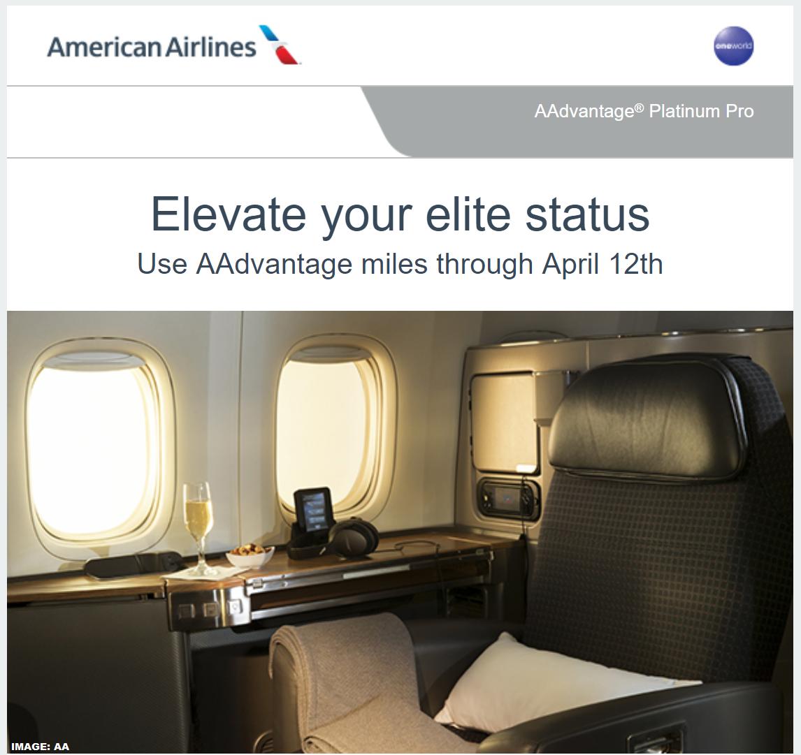 3k Or 300k Miles To Elevate American Airlines Status