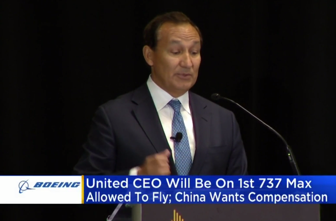 United Airlines Shareholder Meeting: CEO Oscar Munoz Will Be