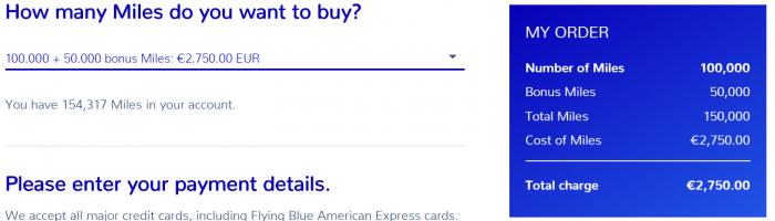 AIr France - KLM Flying Blue Mystery Bonus Sale Price