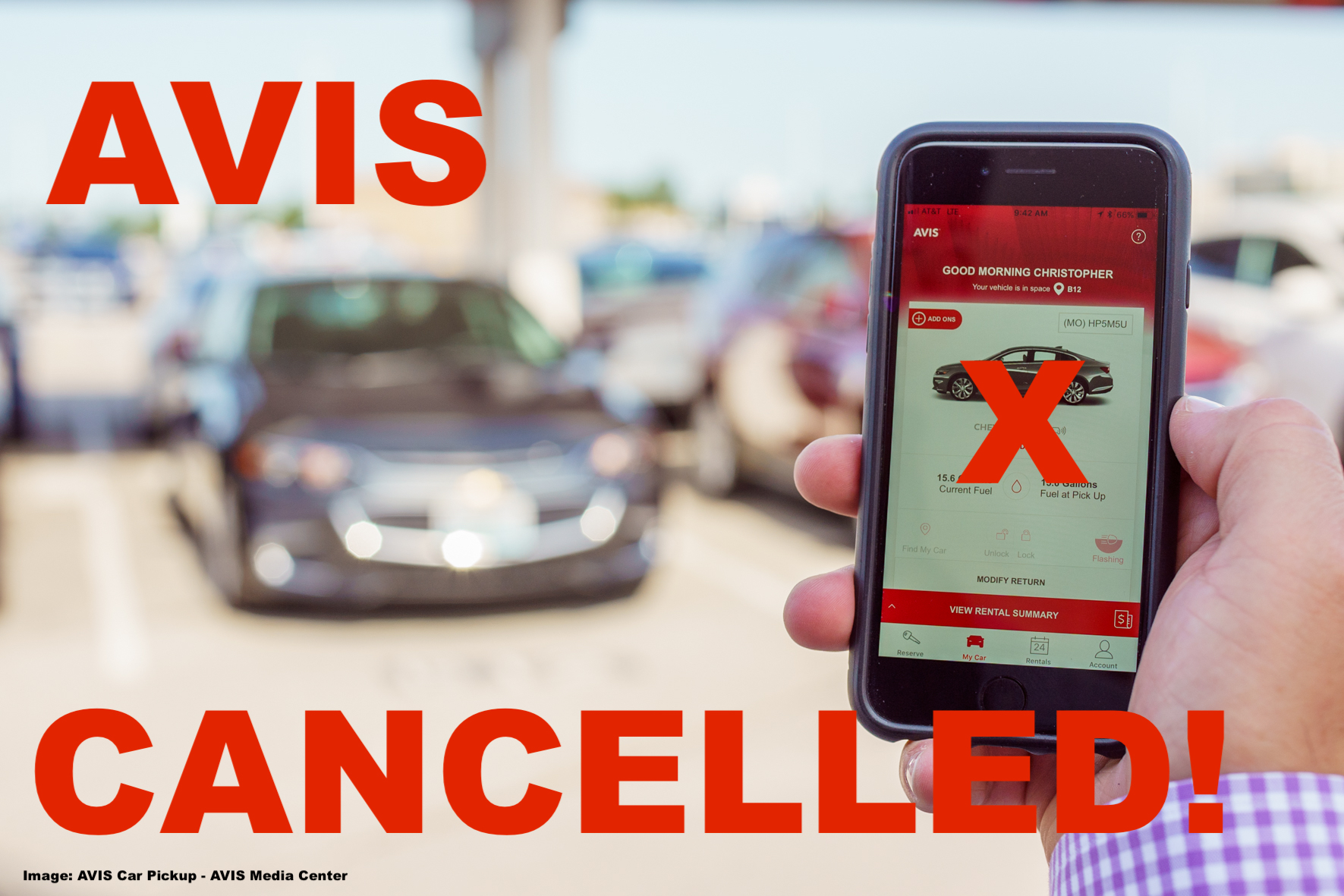 Whine Wednesdays Avis Prepaid Car Reservation Cancelled By Non