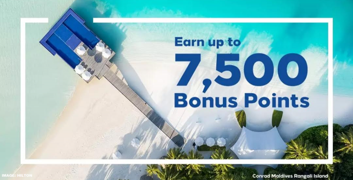 Hilton Honors 7,500 Bonus Points Media August 2019