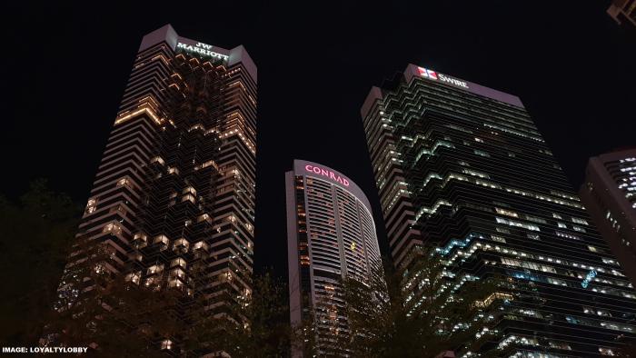 Hong Kong Conrad & JW Marriott