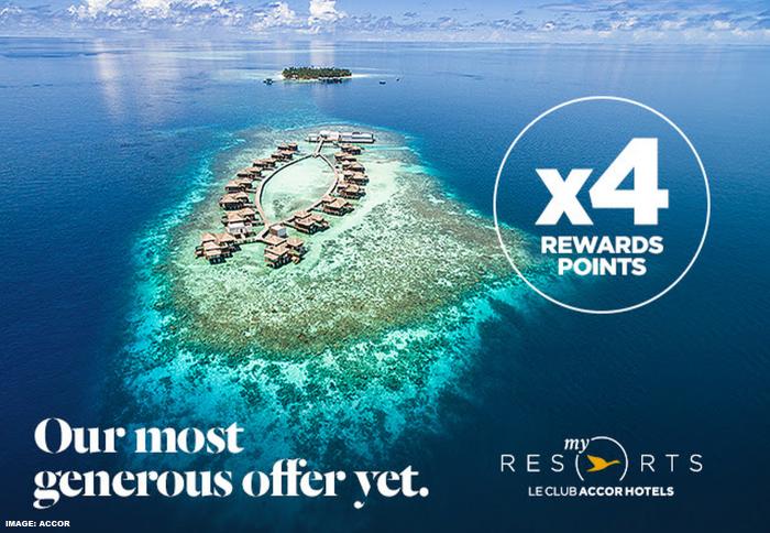 Le Club AccorHotels Asia-Pacific MyResorts Quadruple Points