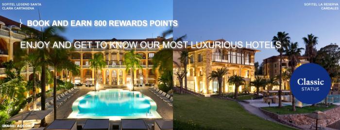 Le Club AccorHotels South America Lux Bonus