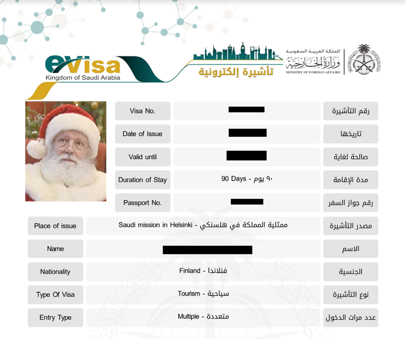 My Saudi Arabia Tourist E Visa Experience Loyaltylobby