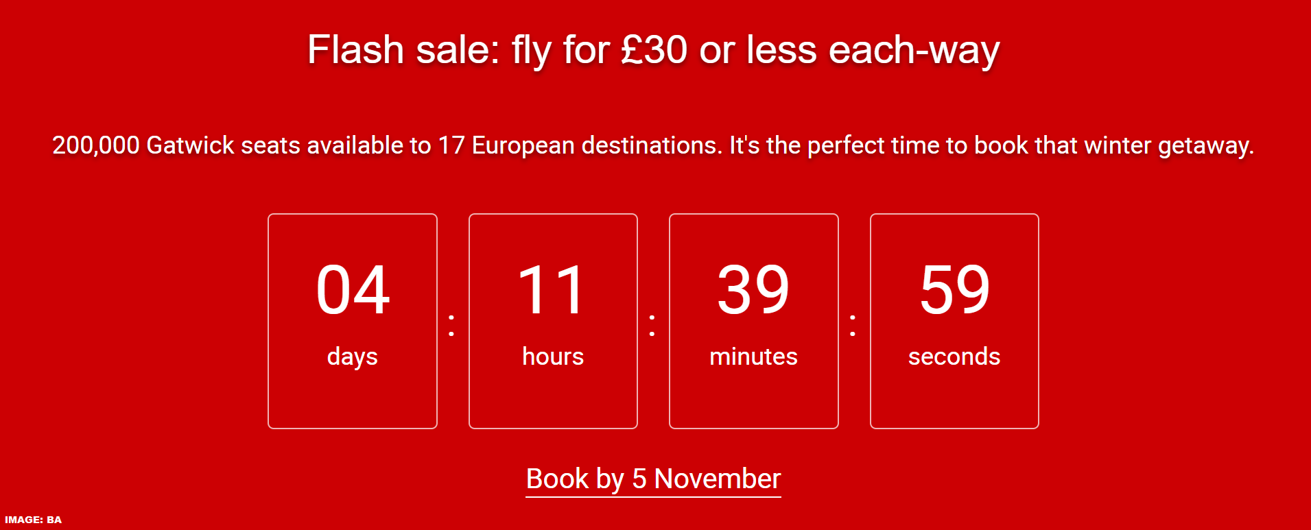 british airways sale - photo #24