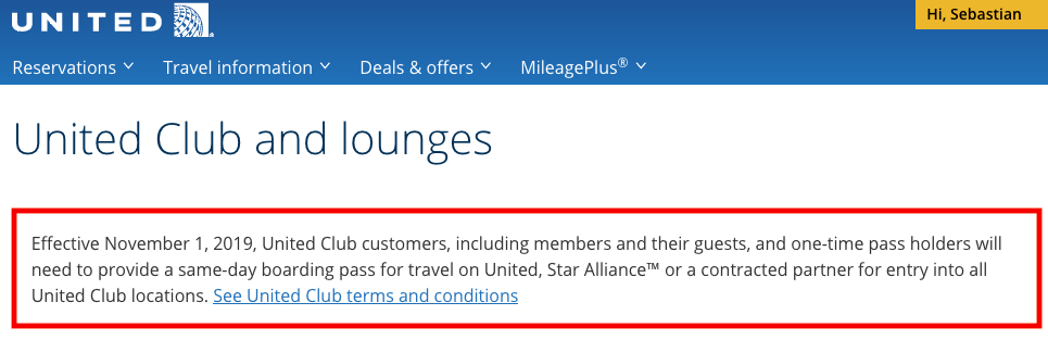 Members Of American Airlines Admirals Club Amp United