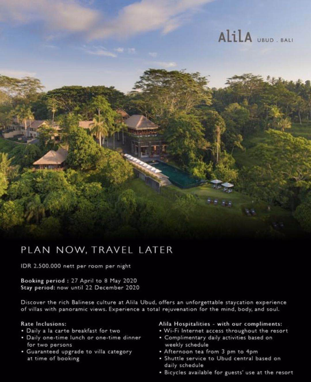Excellent Opportunities For Pre Bookings In Bali Alila Ubud Villa Meal Plan For Just 160 Per Night Loyaltylobby