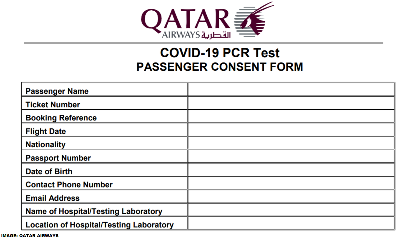 Qatar Airways Requires Covid 19 Rt Pcr Test From More Destinations Effective August 13 2020 Loyaltylobby