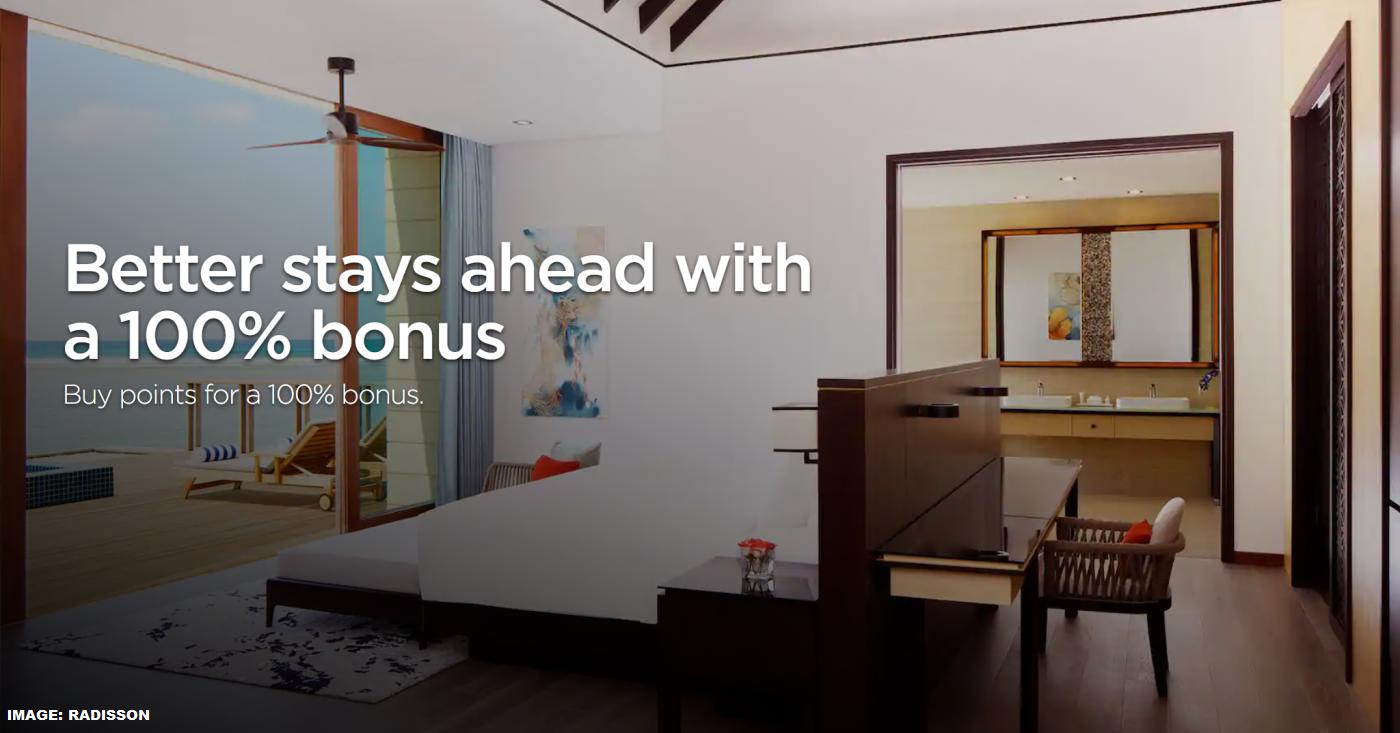 Radisson Rewards Buy Points 100% Bonus Flash Sale ...