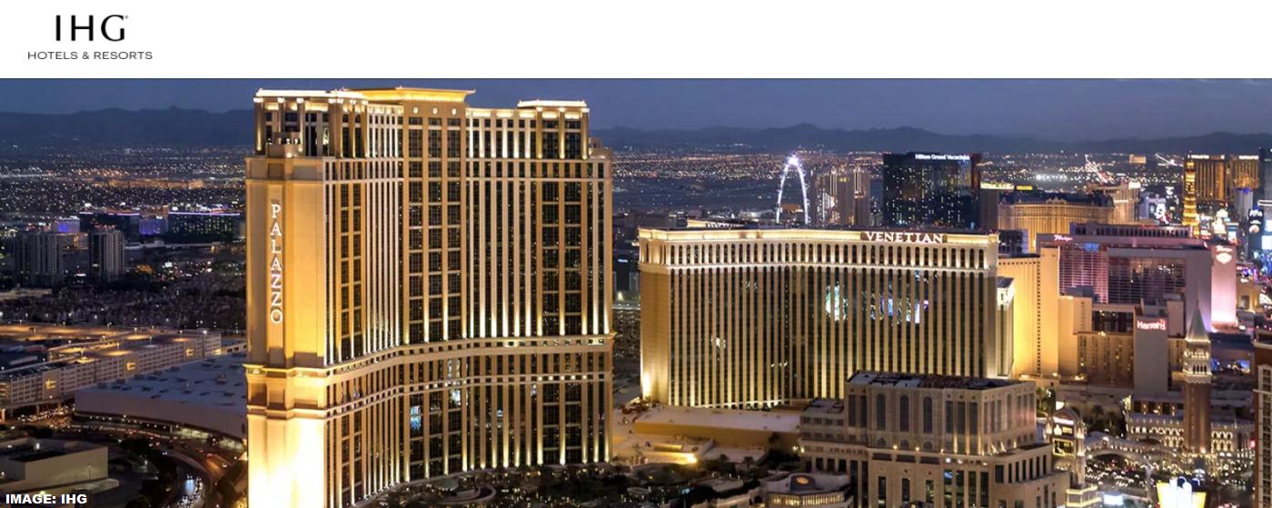 IHG Hotels InterContinental Alliance Resorts Las Vegas Palazzo & Venetian Offers